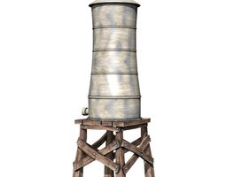 Water Tower 3D element