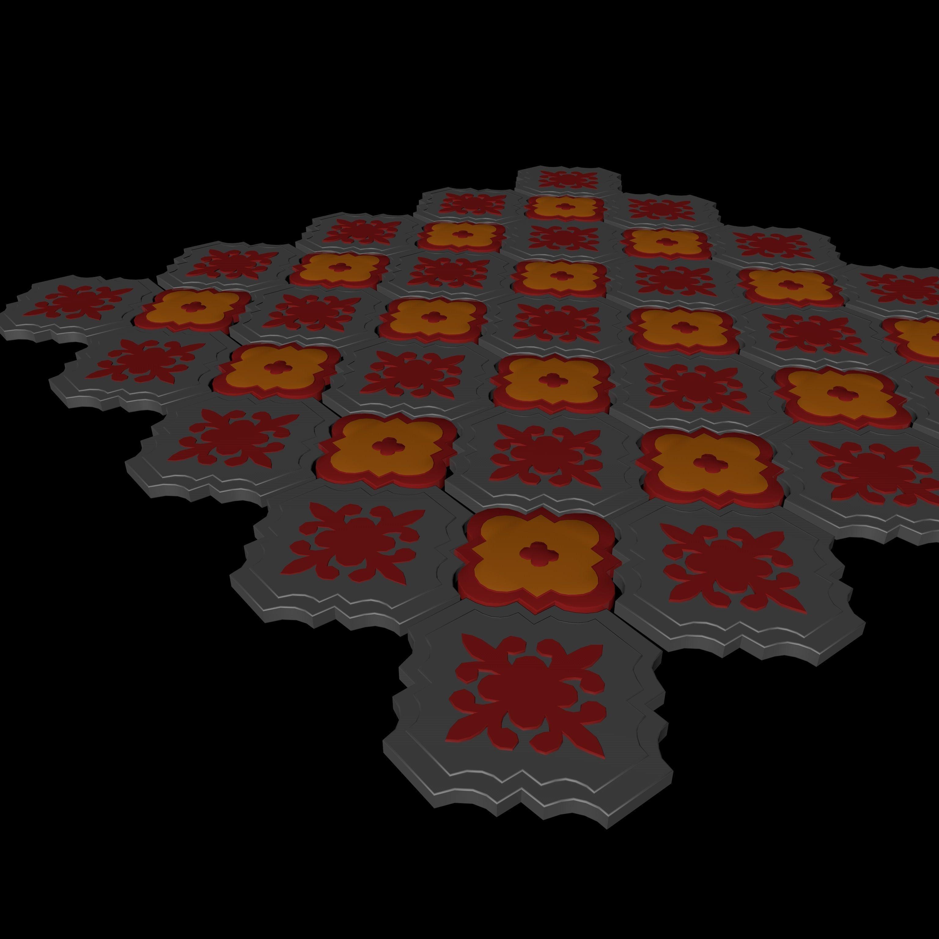 3D model Tile Pavement | CGTrader on Tile Models  id=29532