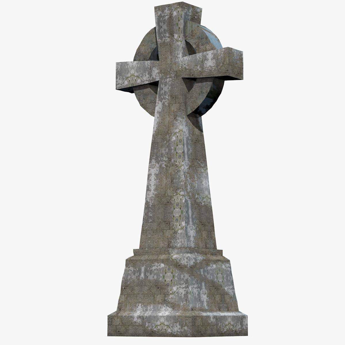 gravestone 3d model realtime cgtrader