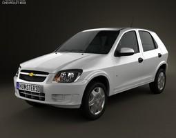 Chevrolet Celta 5-door hatchback 2011 3D