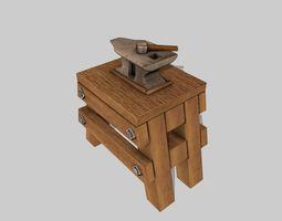 Anvil Hammer 3D model