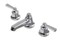 3d waterworks transit faucet with lever handles