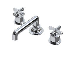 3d waterworks henry faucet with cross handles
