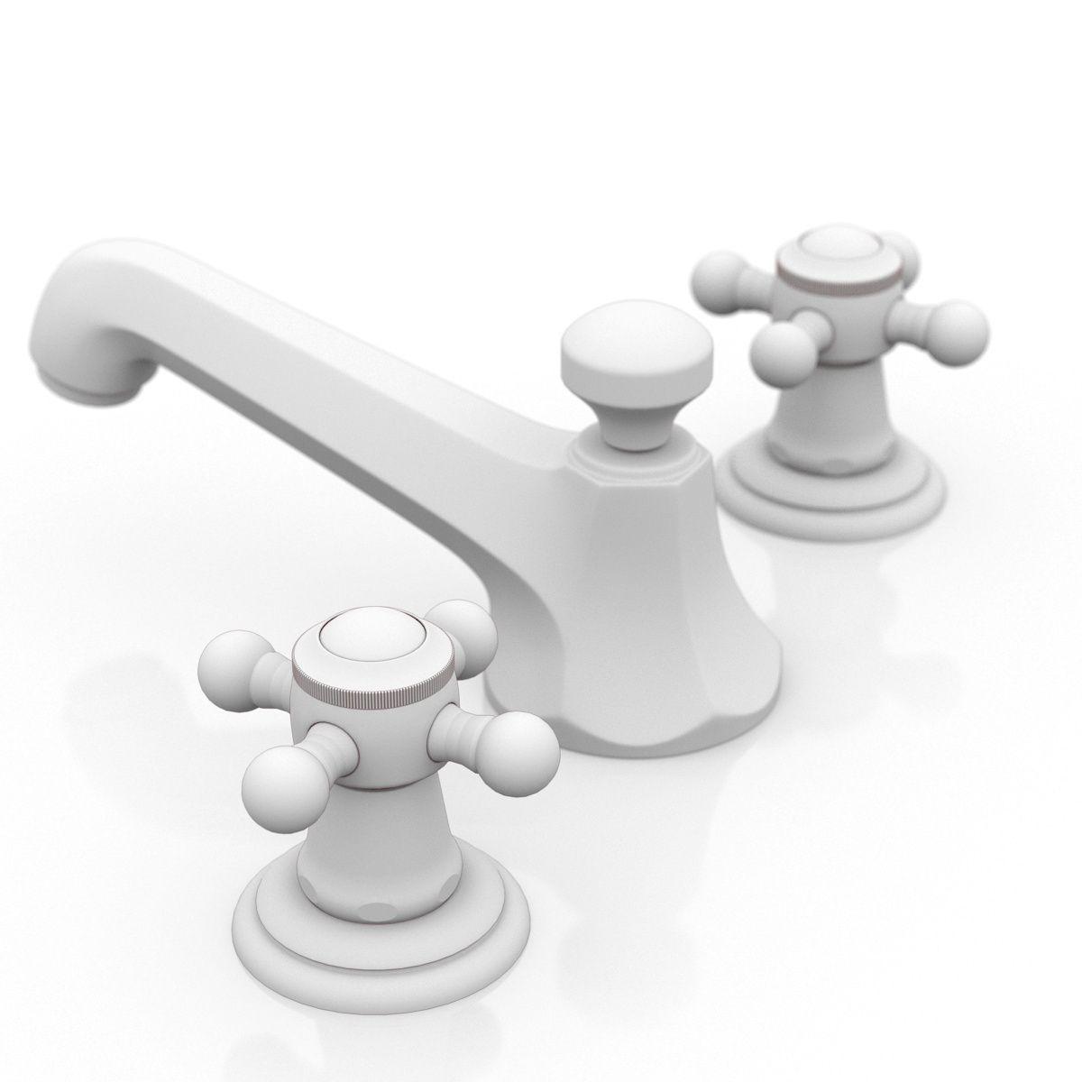 Dorrnbracht Madison Flair Faucet cross handles 3D model MAX OBJ ...