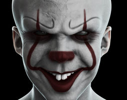 Pennywise Head 3D model