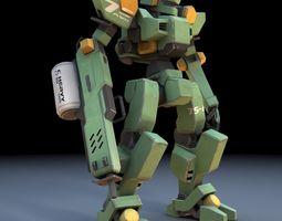 Sentinel Robot Mech fbx format 3D model