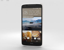 cellular 3D HTC Desire 828 Dual Sim Pearl White