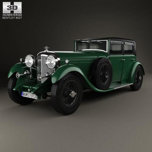 3d Bentley 8 Litre 1930 Cgtrader