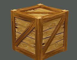 3D model low-poly BoxeS