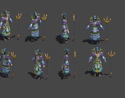 3D asset Master Warlock Therapeutist