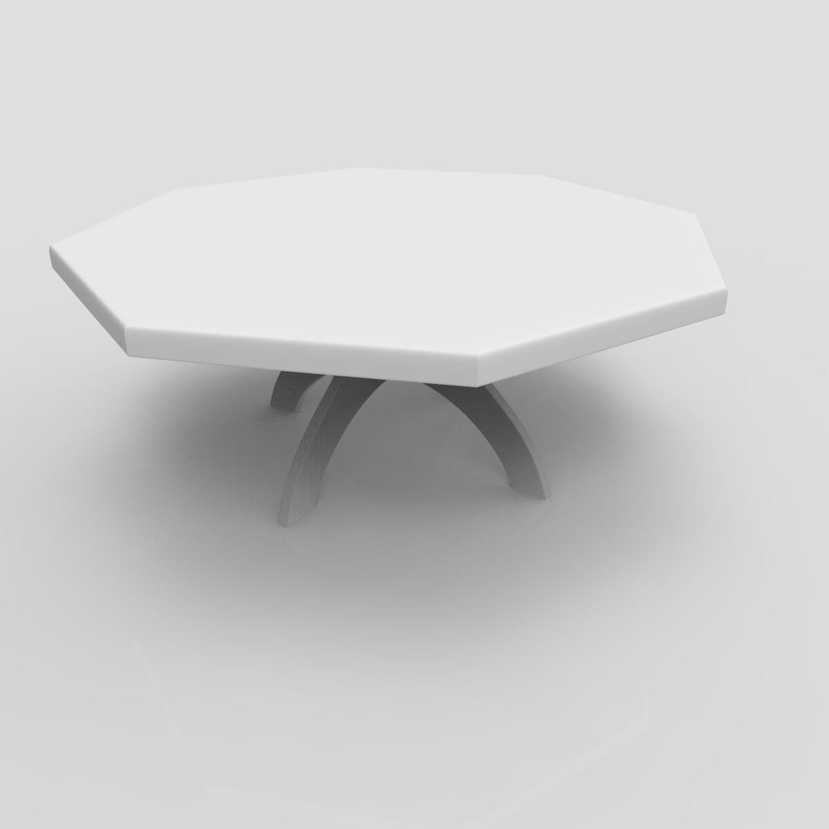 Miniature 3d Print Mini Coffee Table 3d Model 3d Printable Stl