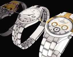 Clock Rolex 3D model