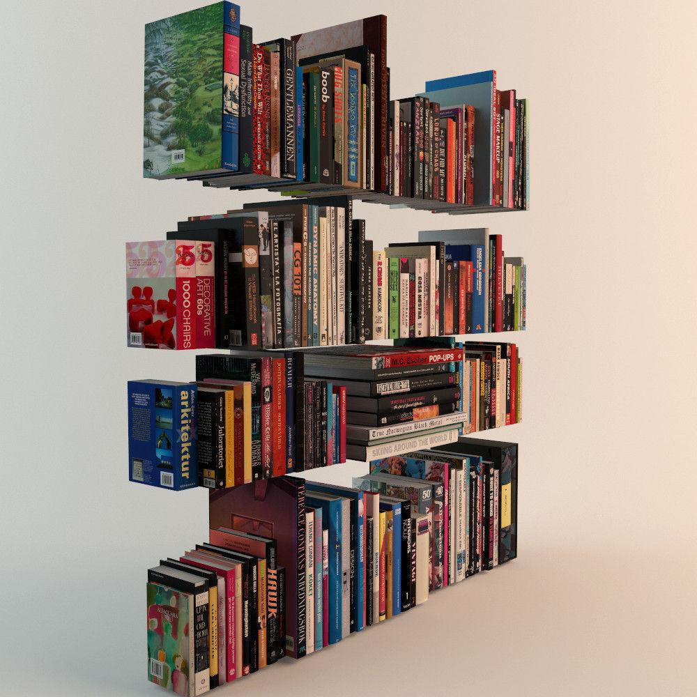 188 Realistic Books | 3D model