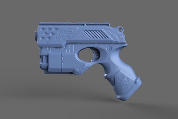 nerf n-strike  3d model obj 1