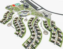 Health Spa Resort 3D asset