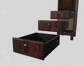Office Wardrobe Cabinet 3D model