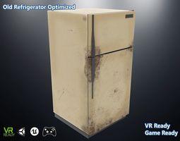 3D model Old Refrigerator