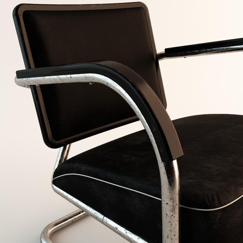 ... Arm Chair 60s Style 3d Model Max Obj Fbx Tga 3 ...