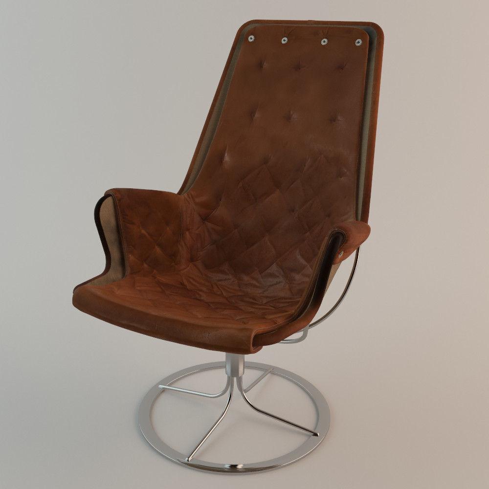 Bruno Mathsson Jetson Chair Dux 3d Model Max Obj Fbx 1 ...