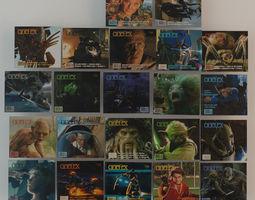 cinefex magazines #12, 14, 15, 22, 23, 30, 31, 33, 13, 21, 27, 28 Twelve total!