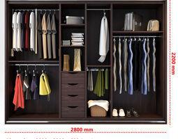 Wardrobe 3d models cgtrader for 3d wardrobe planner