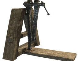 blacksmith vice 3D Model