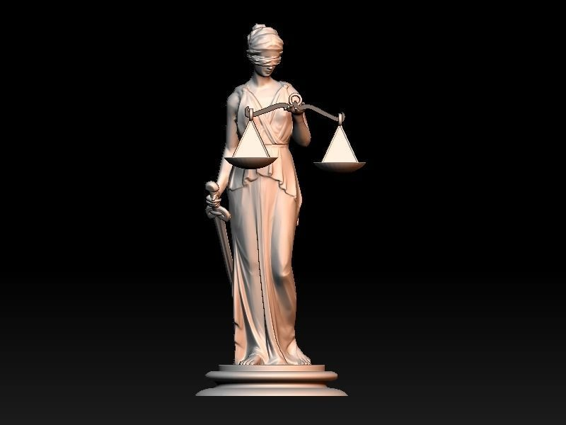 Themis Lady of Justice