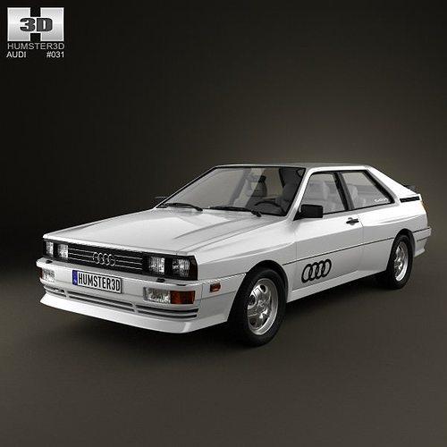 3D Audi Quattro 1980 | CGTrader