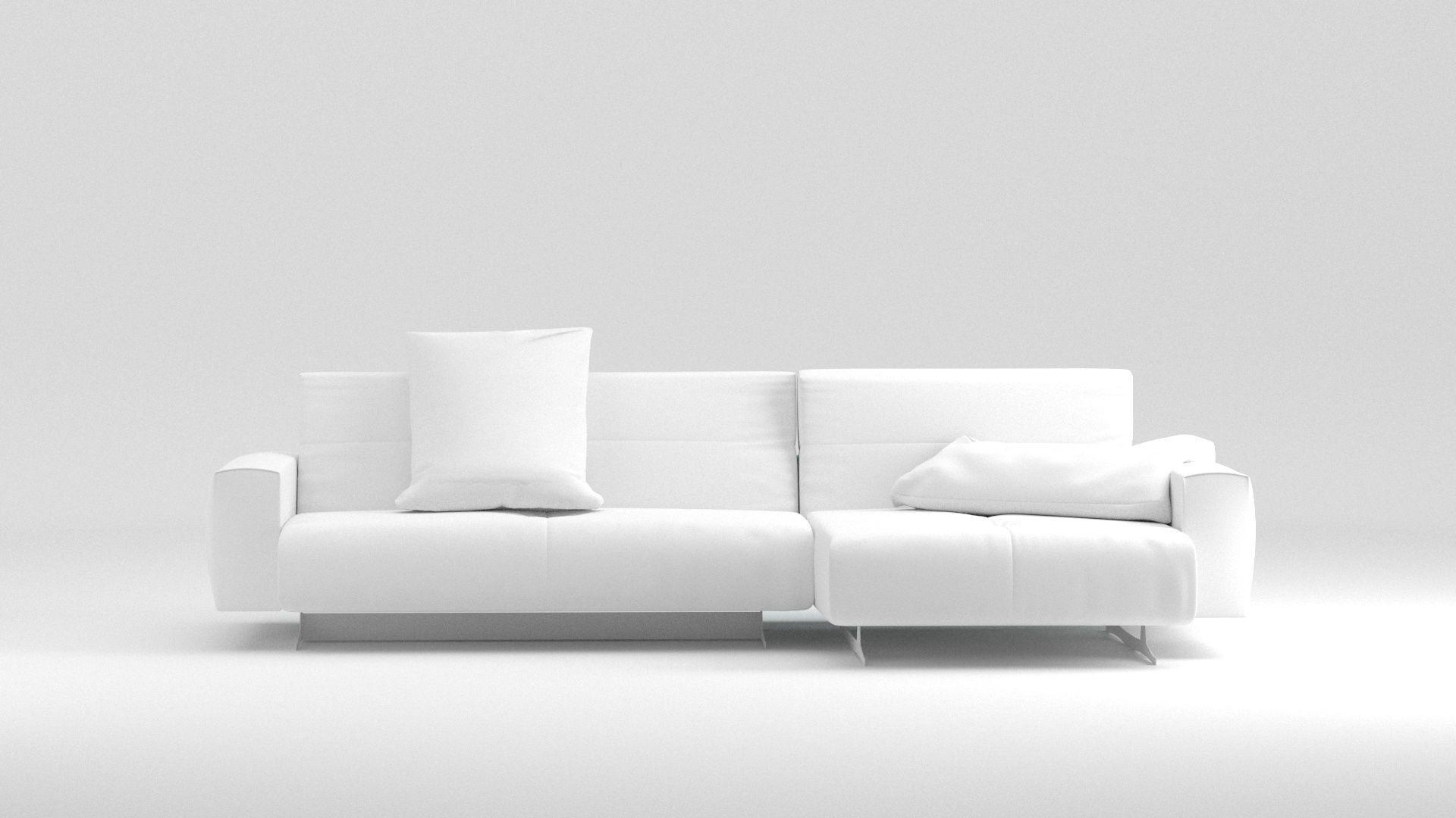 Sofa Divano Benz V Ray Corona Render Model Max Obj Mtl Fbx 2