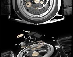 3d watch mechanism 6