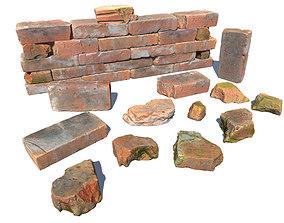 Bricks and Debris 3D model