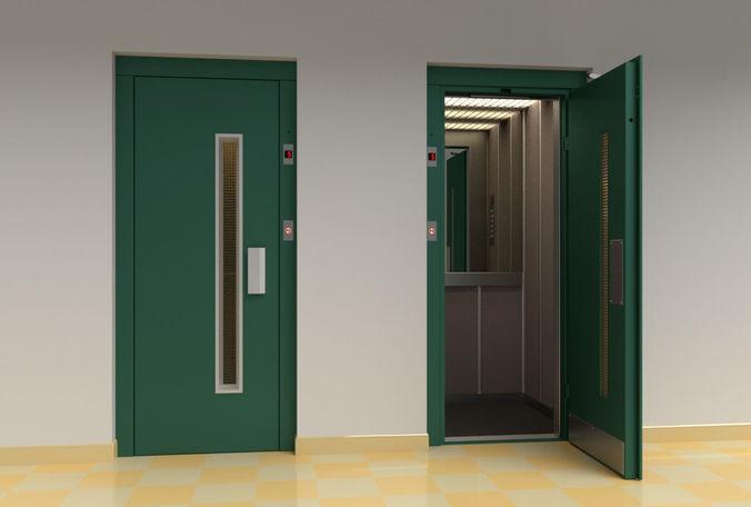 3d European Vintage Elevator Cgtrader