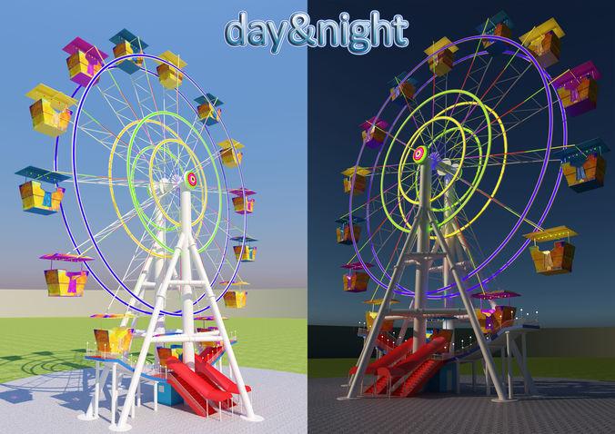 Ferris wheel | 3D model