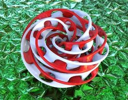 3d print model mobius torus knot type-4