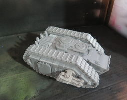 THE TRIADES COMBO vehicles 3D printable model