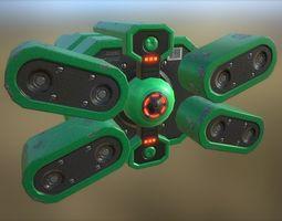 Futuristic Device 3D model