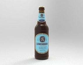3D Lowenbrau Beer bottle