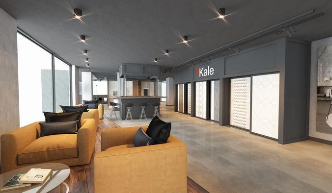 showroom office bar interior 3d model 3d model max obj mtl fbx 1