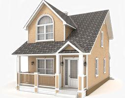 Cottage 48 3D model