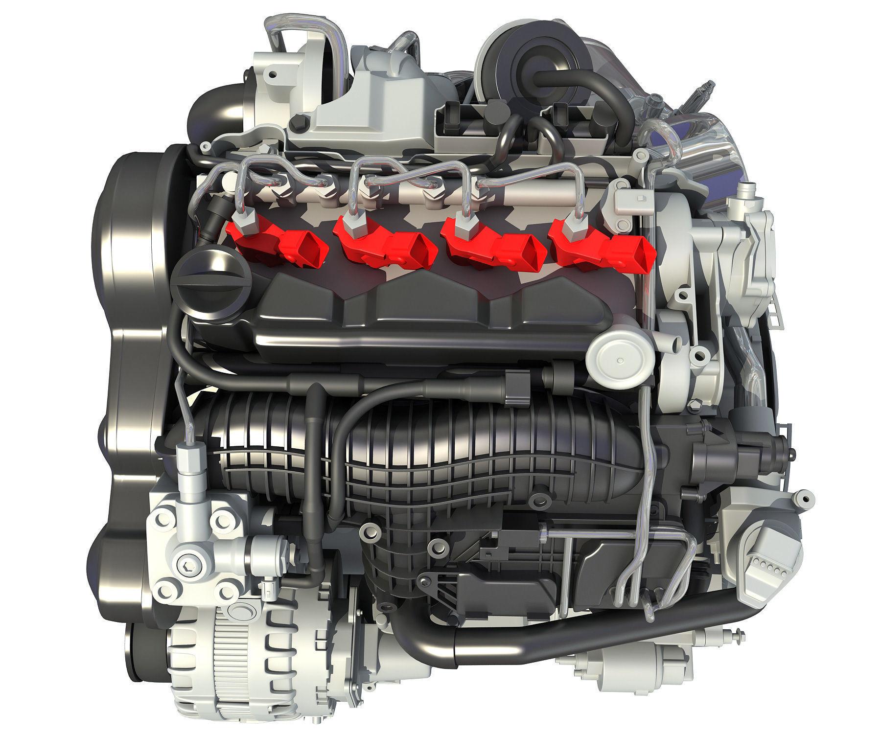 3D Engine Models - Car
