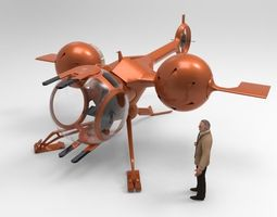 3D Self Balanacing Helicopter