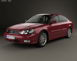 Subaru Legacy 1998 3D
