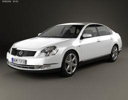 Nissan Teana 2006 3D