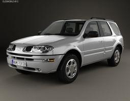 3D model Oldsmobile Bravada 2002