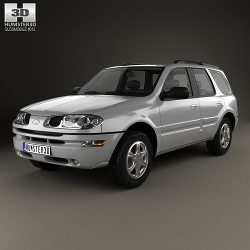 3d Model Oldsmobile Bravada 2002 Cgtrader