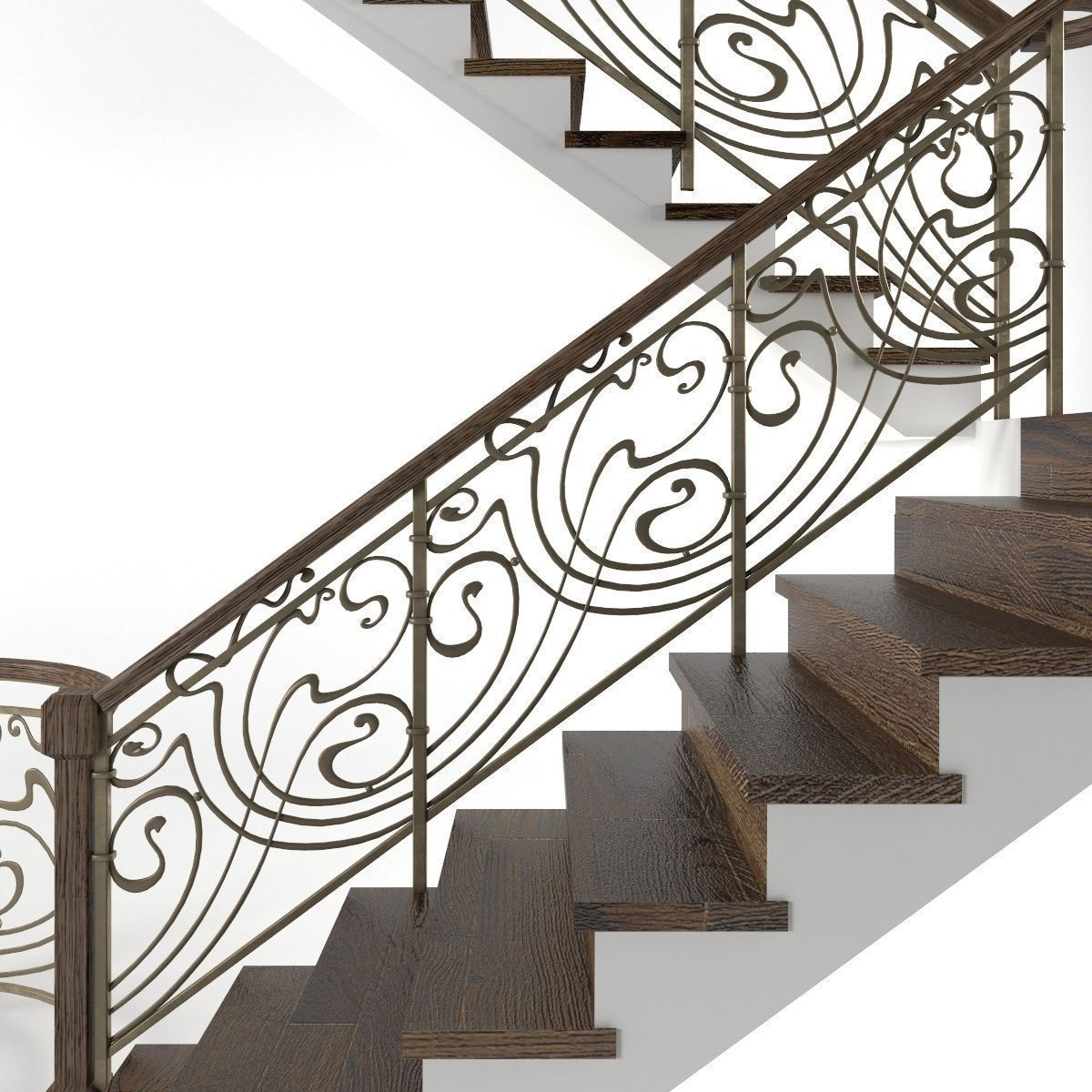Iron railing revit
