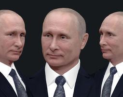 3D printable model figurines Vladimir Putin