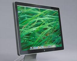 3D model Apple LED Cinema Display