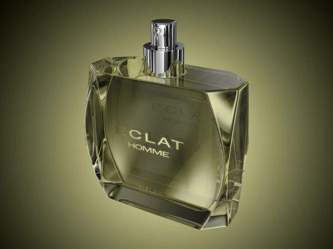 3d Perfume Bottle Eclat Homme Oriflame Cgtrader
