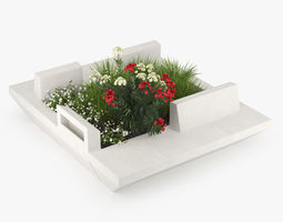 3D Flowerbed